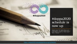 doppa schedule is nowup